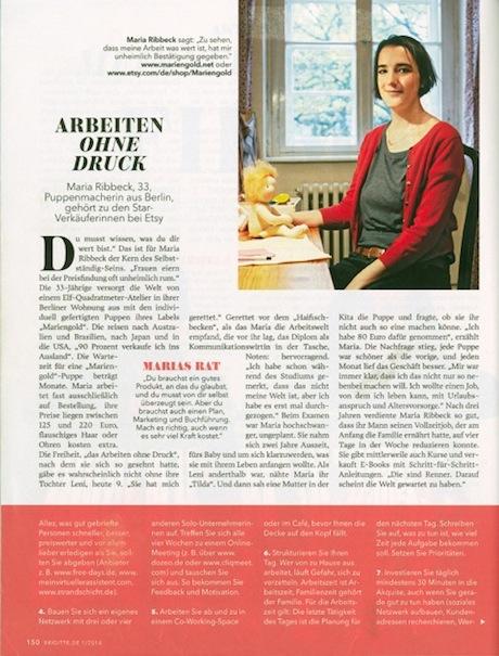 Scan Brigitte Artikel