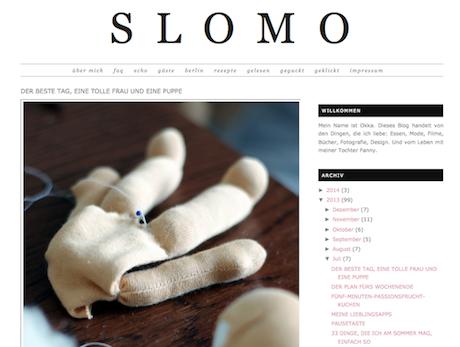 Sreenshot Slomo